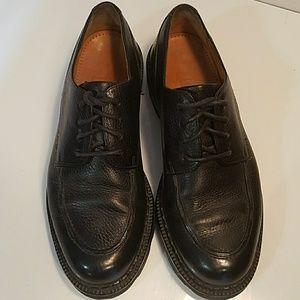 Cole Haan Men's Black Textured Leather Dress Shoes